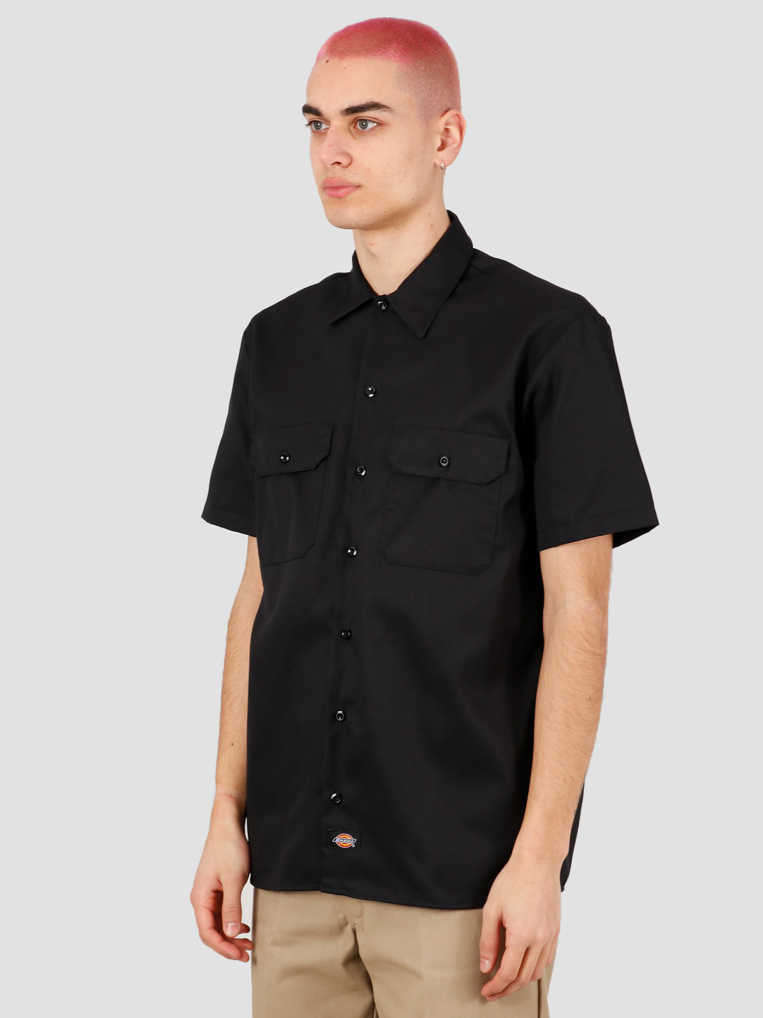 Dickies Dickies Short Sleeve Work Shirt Black DK001574BLK1