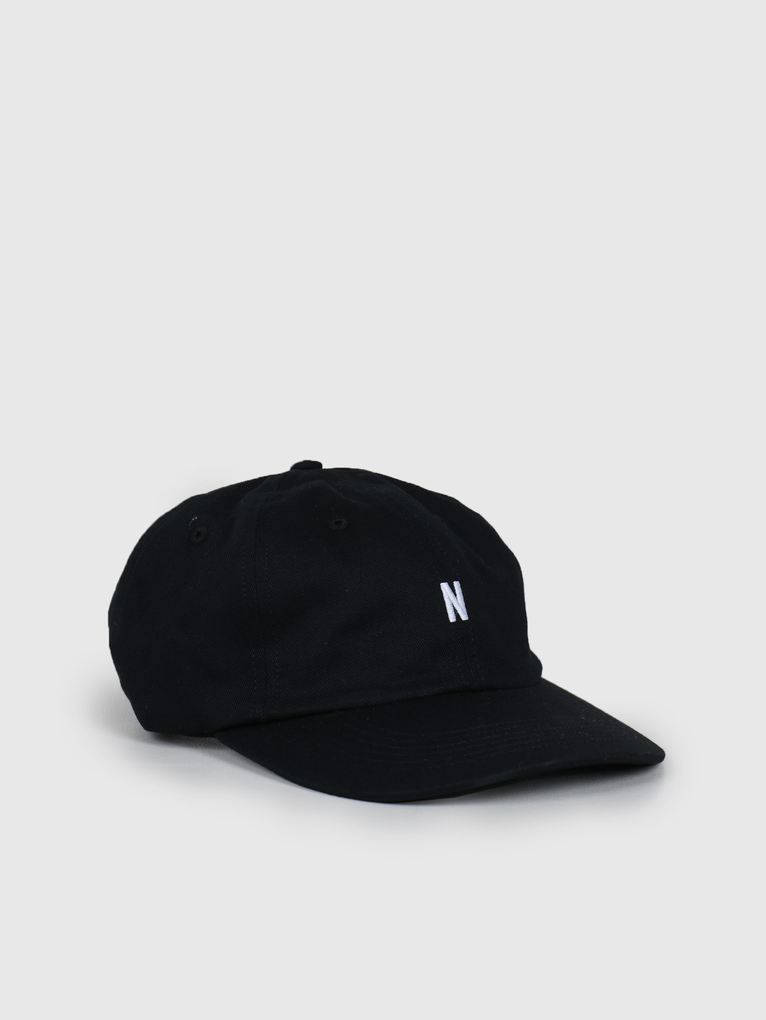 Norse Projects Norse Projects Twill Sports Cap Black N80-0001-9999
