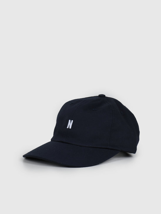Norse Projects Twill Sports Cap Dark Navy N80-0001-7004