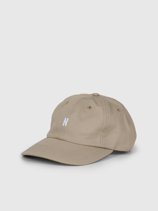 Norse Projects Twill Sports Cap Utility Khaki N80-0001-0966