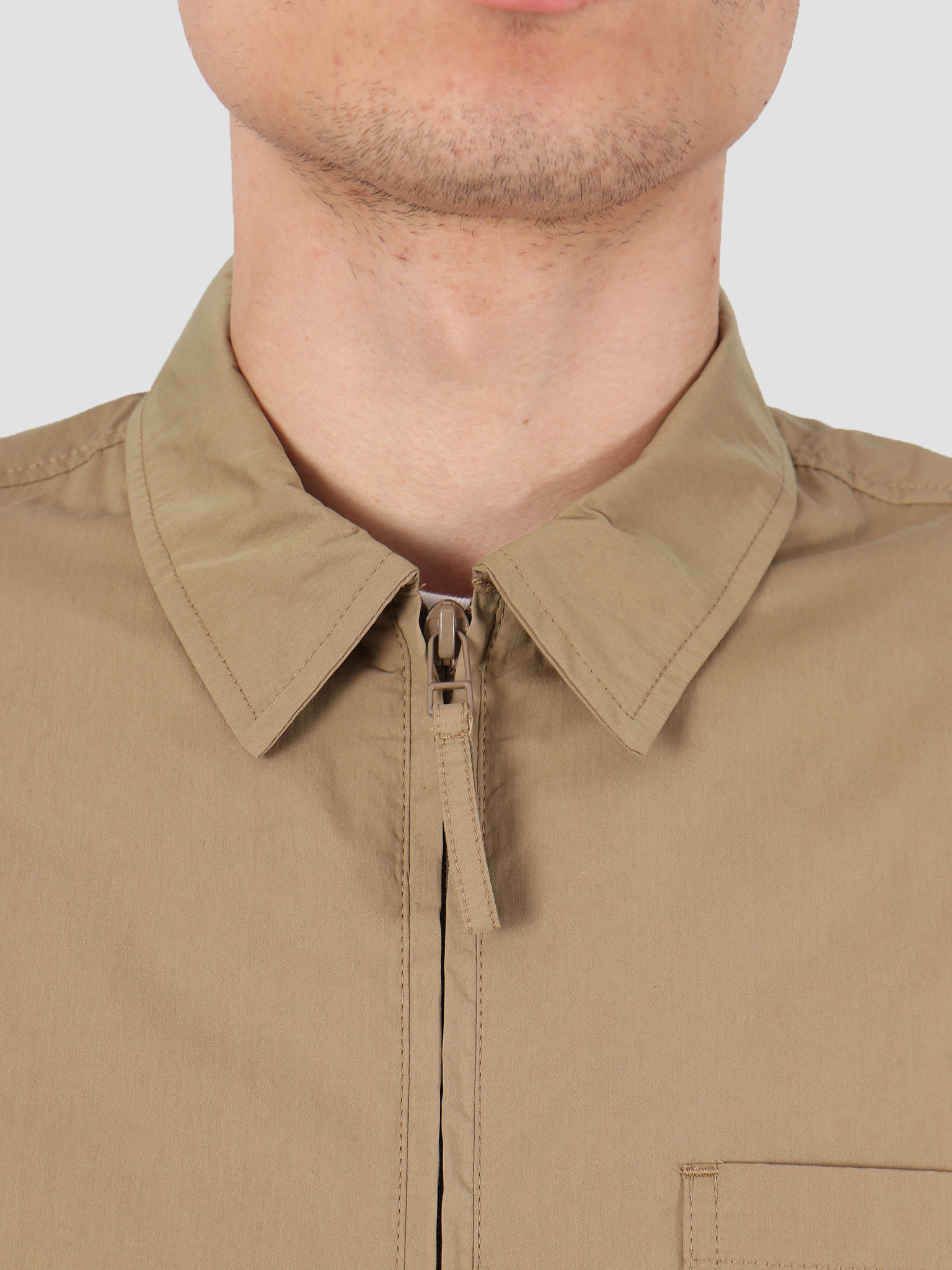 Norse Projects Norse Projects Jens Zip Packable Jacket Utility Khaki N50-0157-0966