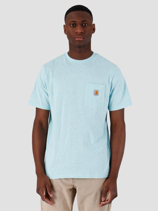 Carhartt WIP Pocket T-Shirt Window Heather I022091-0B800