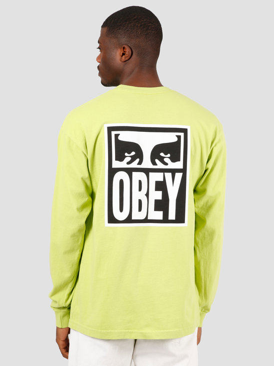 Obey Obey eyes icon 2 T-shirt Bright lime 167102142 LME