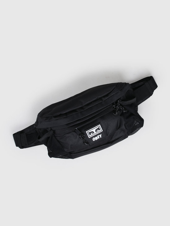 Obey Conditions waist bag iii Black 100010134 BLK