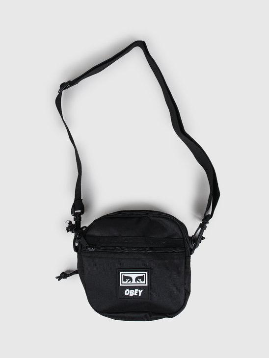 Obey Conditions traveler bag iii Black 100010135 BLK
