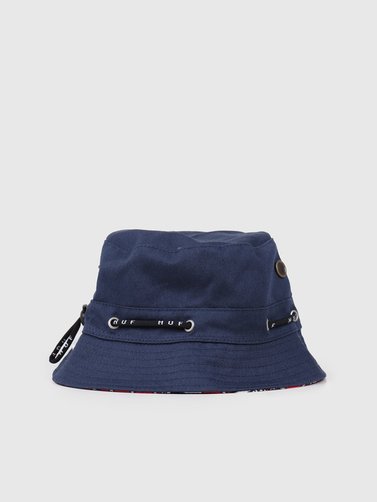 HUF Atelier Bucket Hat Red HT00447