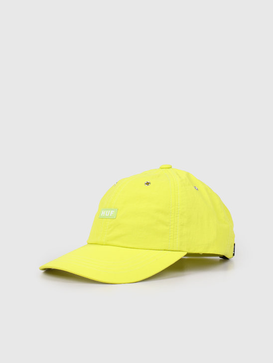 HUF DWR Fuck It Cv 6 Panel Hat Hot Lime HT00443