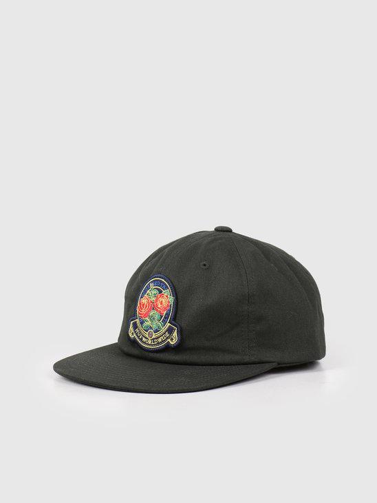 HUF Tenderloin Roses 6 Panel Hat Sycamore HT00438