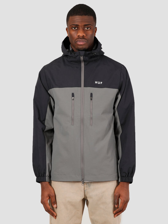 HUF Standard Shell 3 Jacket Black JK00213