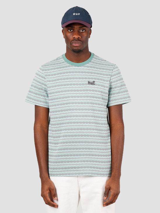 HUF Allen Short Sleeve Knit Top Harbor Grey KN00164