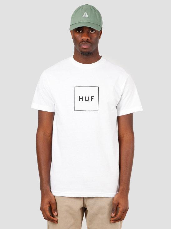 HUF Essentials TT Shortsleeve Logo White TS00507