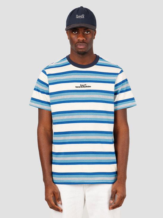 HUF Travis Short Sleeve Knit Top Olympian Blue KN00165