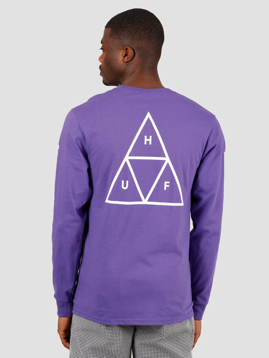 HUF Essentials Tt Longsleeve Tee Grape TS00506
