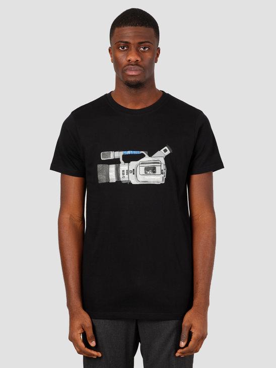 Wemoto Cam Tee T-Shirt Black 151.117-100
