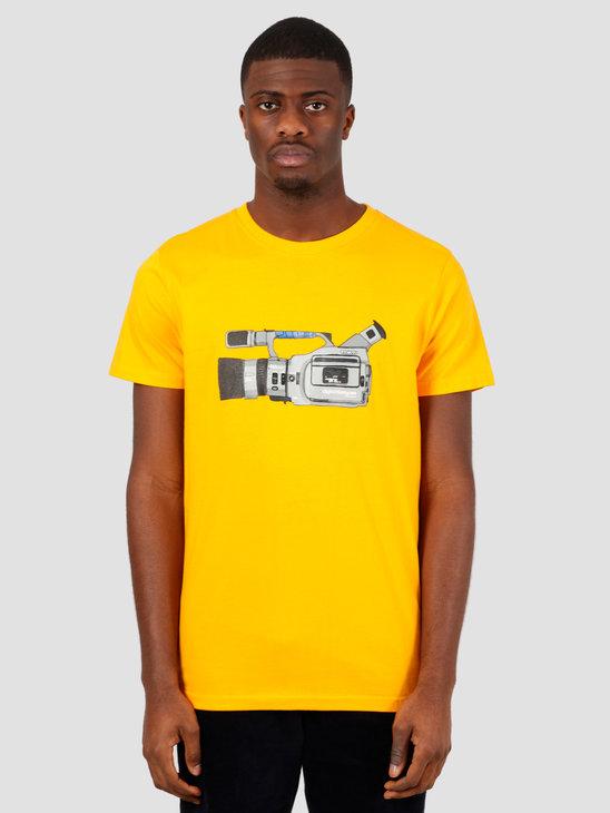 Wemoto Cam Tee T-Shirt Yellow 151.118-700