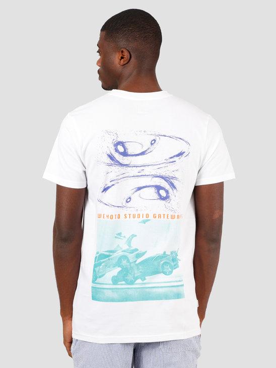 Wemoto White Hole Tee T-Shirt White 151.110-200