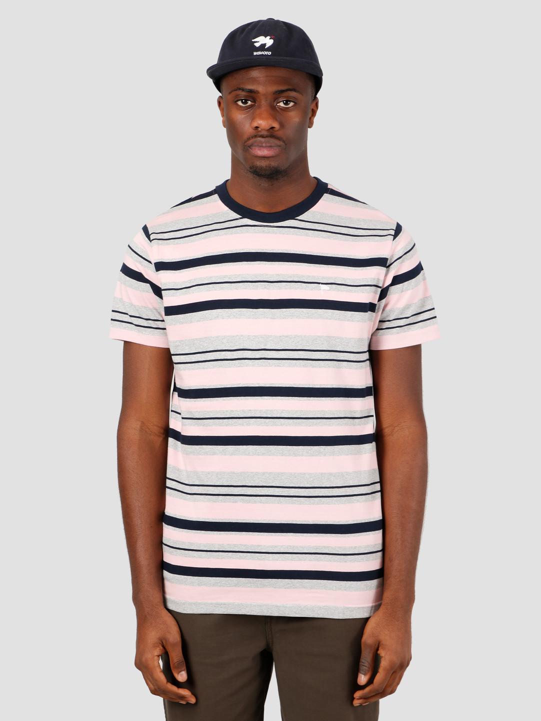 Wemoto Wemoto Warren Stripe T-Shirt Heather 151.215-300
