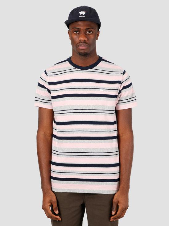 Wemoto Warren Stripe T-Shirt Heather 151.215-300