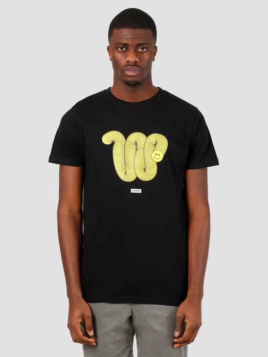 Wemoto Wally Tee T-Shirt Black 151.130-100
