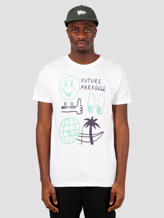 Wemoto Flp Tee T-Shirt White 151.162-200
