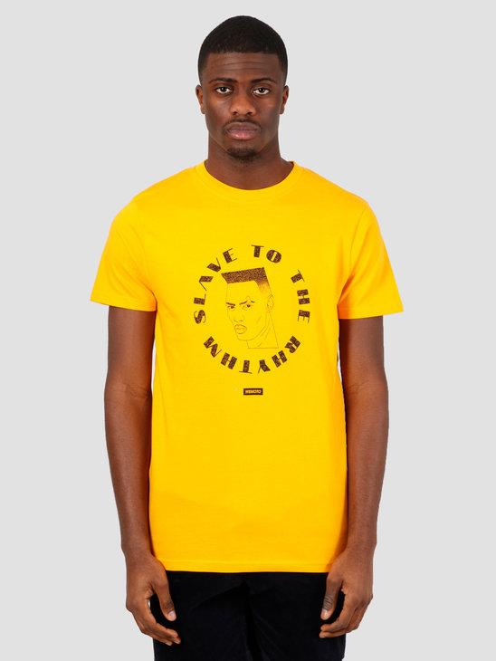 Wemoto Sttr Tee T-Shirt Yellow 151.105-700