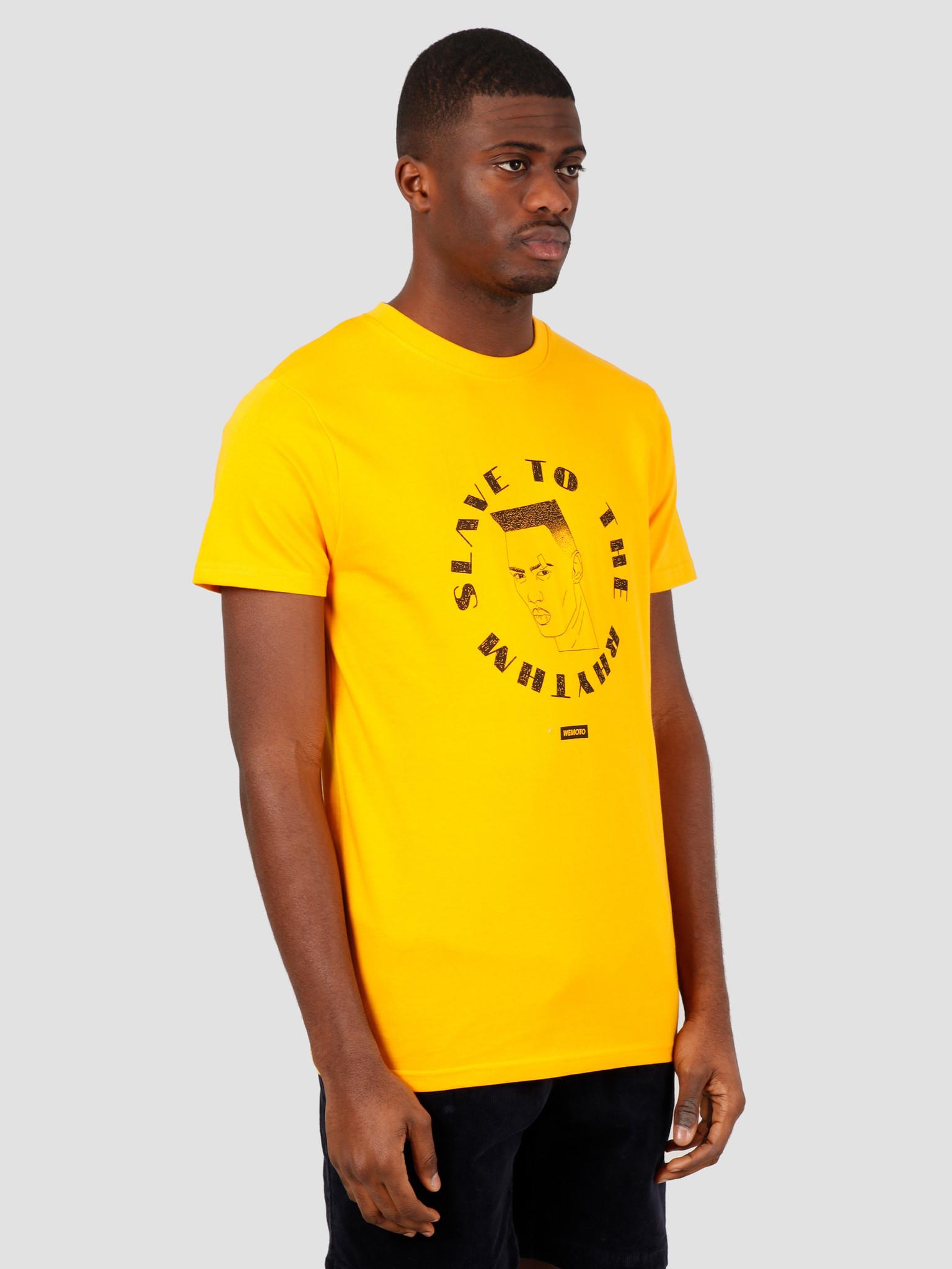 Wemoto Wemoto Sttr Tee T-Shirt Yellow 151.105-700