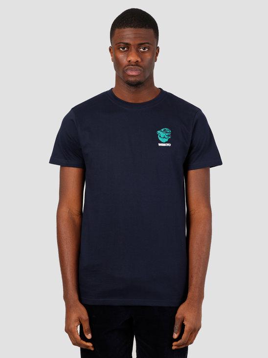 Wemoto Gavin Tee T-Shirt Navy Blue 151.153-400
