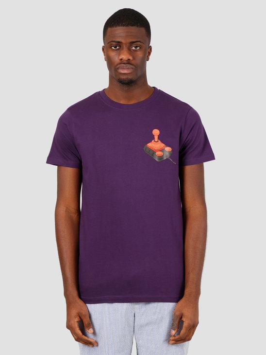 Wemoto Stick Tee T-Shirt Purple 151.122-434