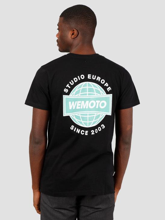 Wemoto Radio Tee T-Shirt Black 151.124-100