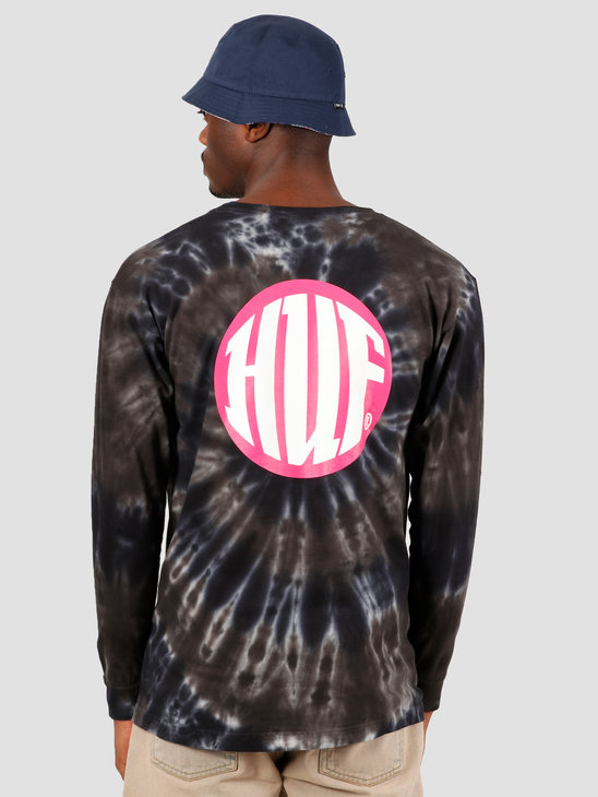 HUF High Definition Longsleeve Tee Black TS00990
