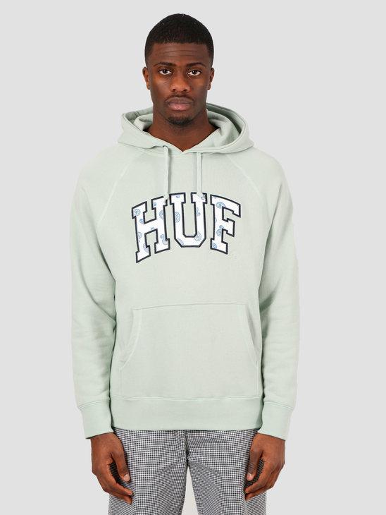 HUF Paisley Pullover Hoodie Beryl Green FL00113