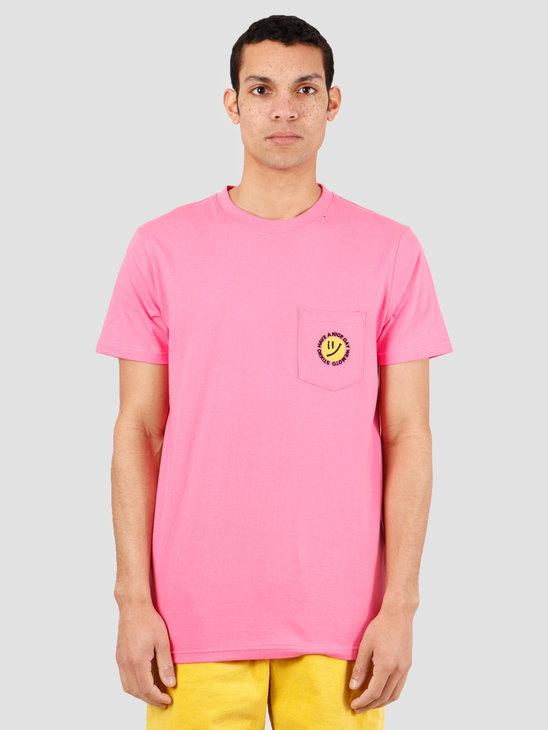 Wemoto Day Tee T-Shirt Pink 151.157-550