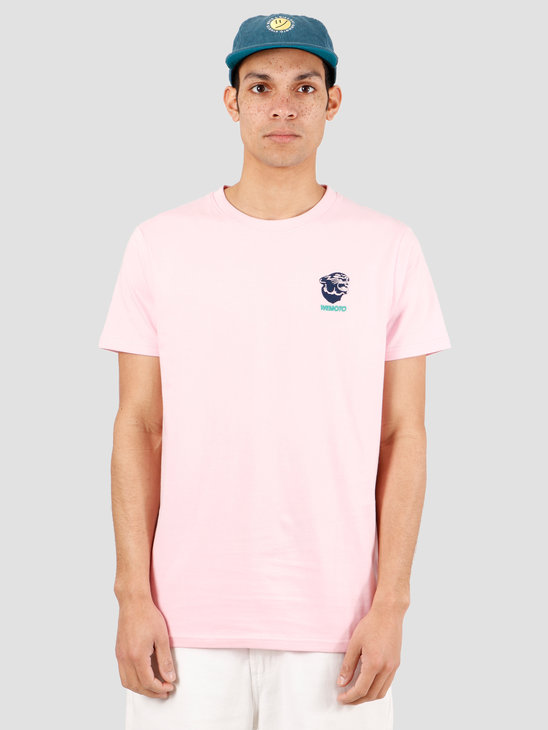 Wemoto Gavin Tee T-Shirt Light Pink 151.154-575