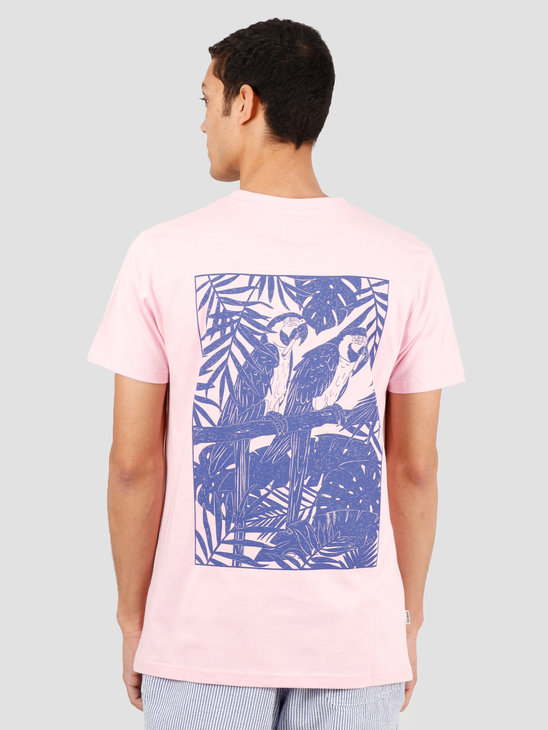 Wemoto Parrots Tee T-Shirt Light Pink 151.102-575