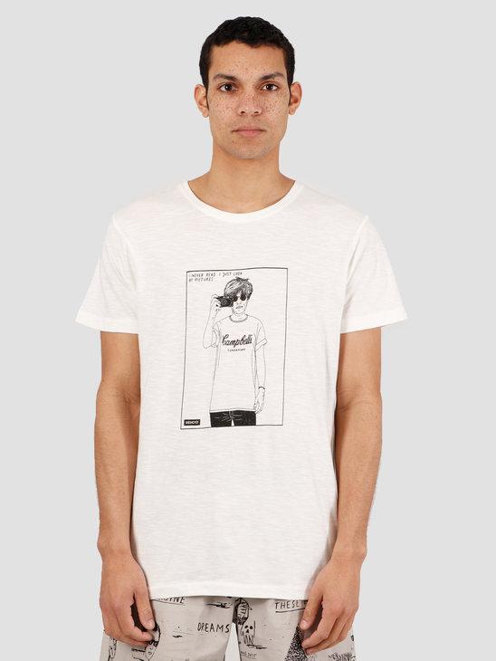 Wemoto Void T-Shirt Off White 151.249-201