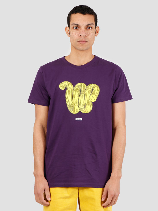 Wemoto Wally Tee T-Shirt Purple 151.131-434