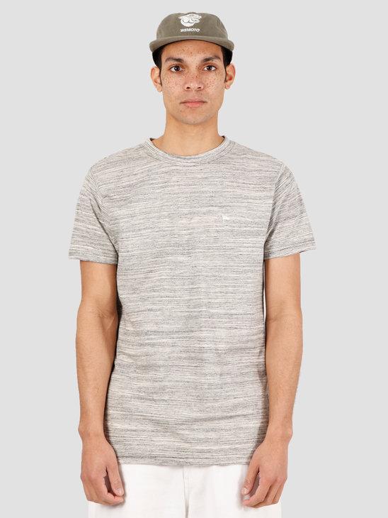 Wemoto Warren Mel T-Shirt Grey Melange 151.229-307