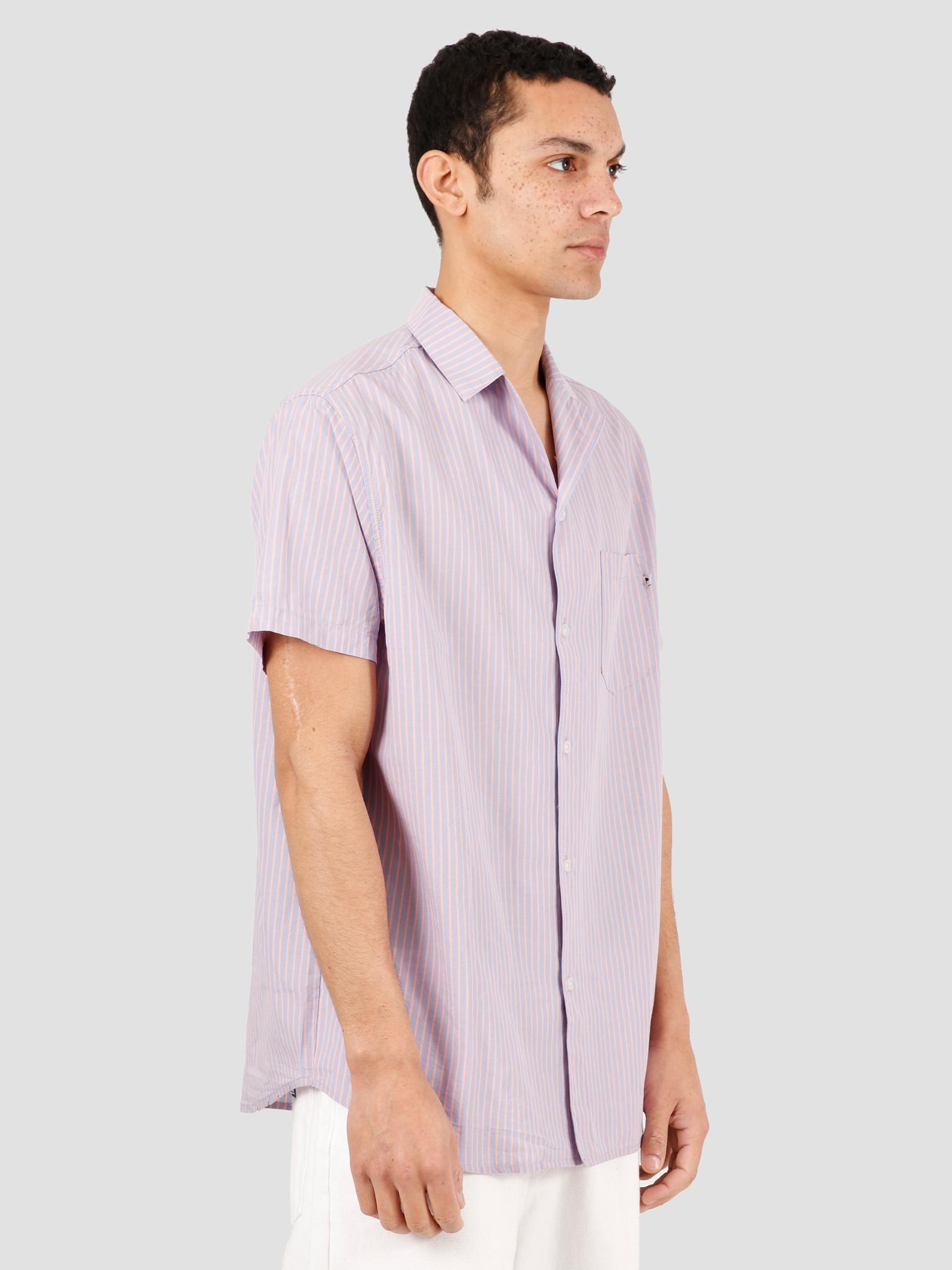 Wemoto Wemoto Kean Shirt Button Up Lavender 151.321-548