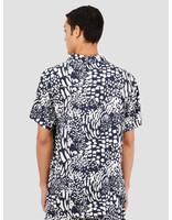 Wemoto Wemoto Tore Shirt Button Up Navy Blue 151.304-400