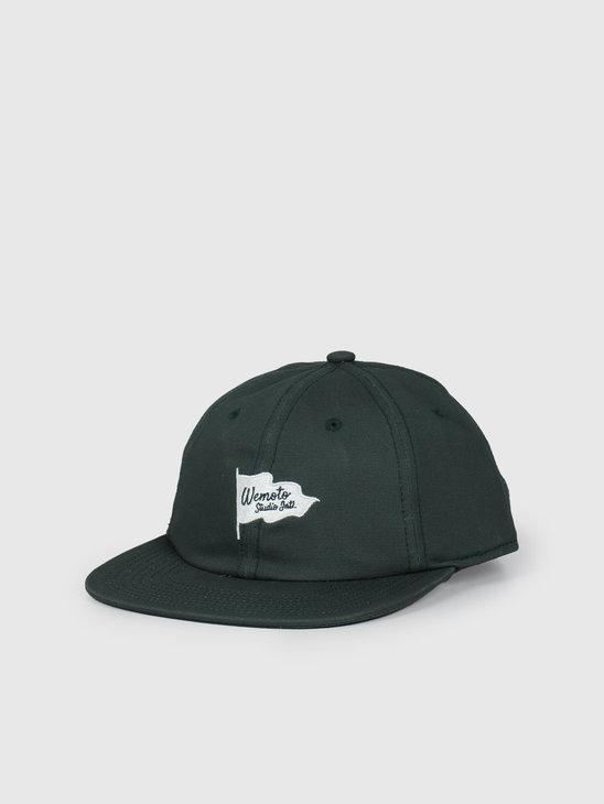Wemoto Flag Studio Hat Dark Green 153.824-639