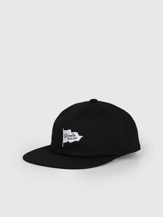 Wemoto Flag Studio Hat Black 153.822-100