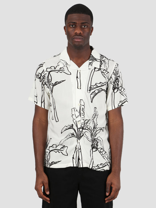 Stussy Banana Tree Shirt Off White 1110095