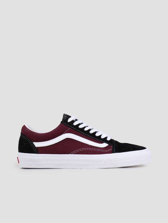 Vans UA Old Skool Black Port Royale VN0A4U3BWT91