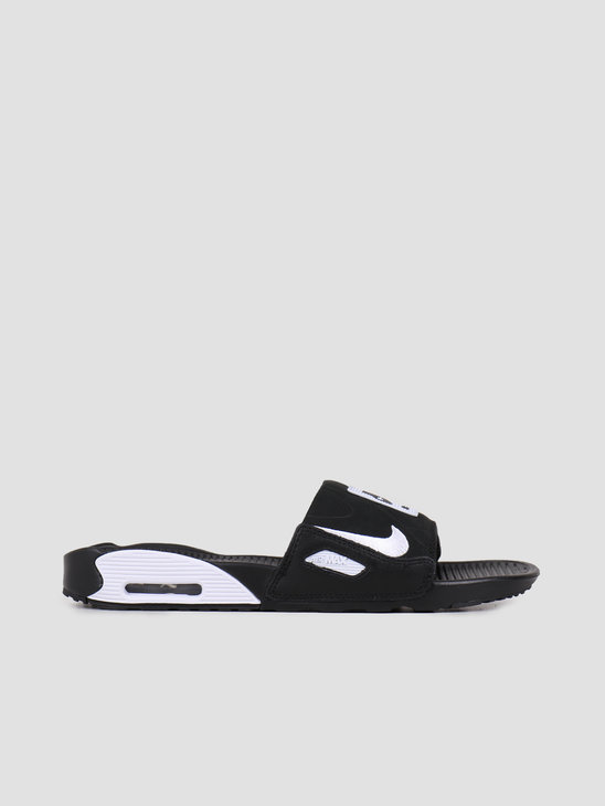 Nike Air Max 90 Slide Black White BQ4635-002
