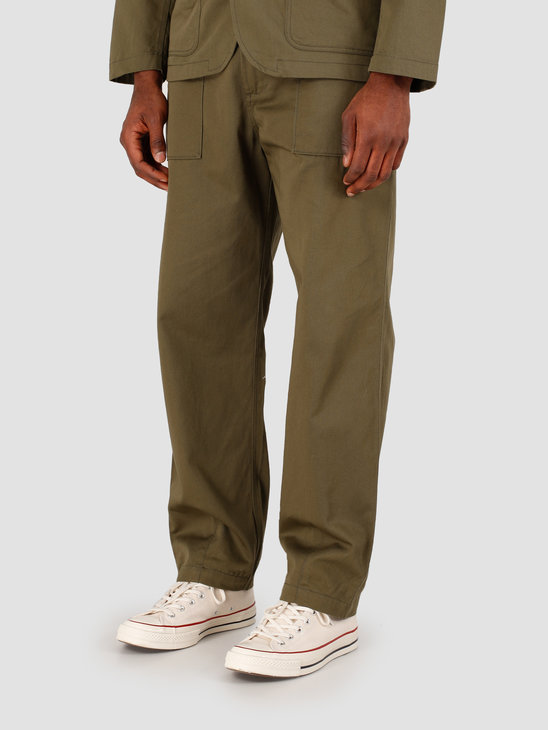 Universal Works Fatigue Twill Pant Light Olive 00132