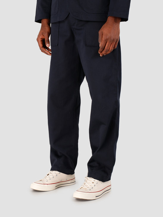 Universal Works Fatigue Twill Pant Navy 00132