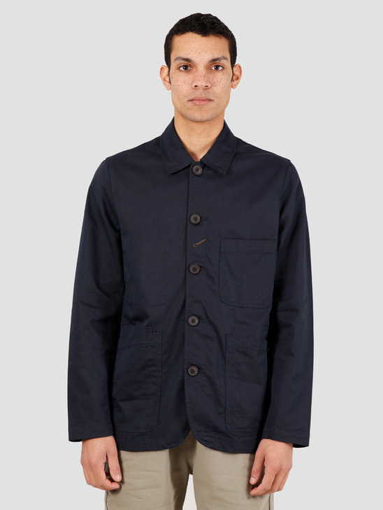 Universal Works Bakers Twill Jacket Navy 00102