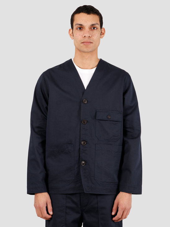 Universal Works Cabin Twill Jacket Navy 00125
