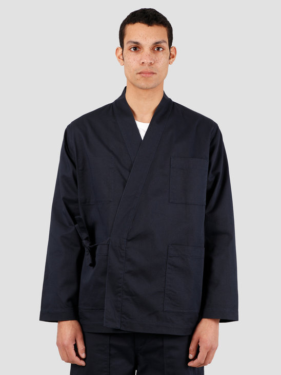 Universal Works Kyoto Twill Work Jacket Navy 00115