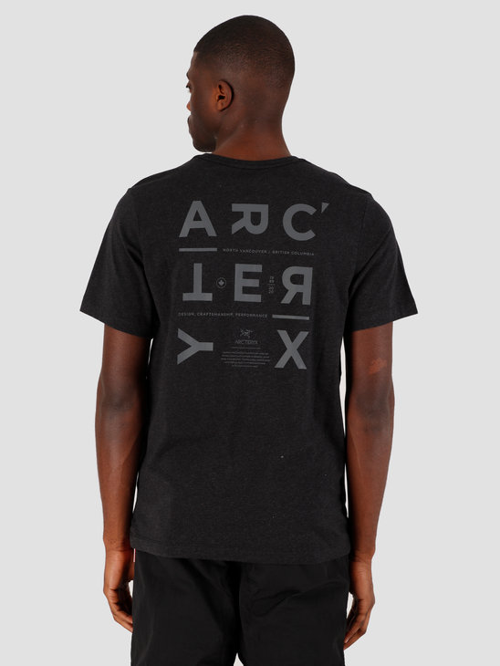 Arc'teryx Component T-Shirt Black Heather 25233